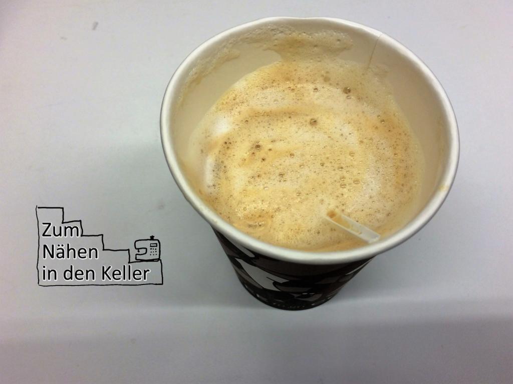 08:04 Uhr: Noch mal ein Kaffee vor der anstehenden Marathonsitzung