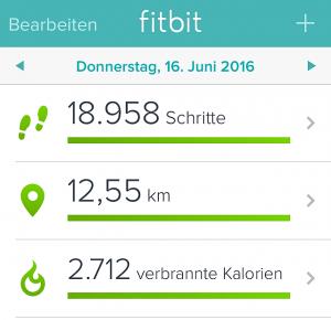Berlin war gut für meine Fitness. So viel laufe ich im Alltag nicht. Und für Sport fehlt irgendwie auch immer die Zeit. Naja und die Motivation...
