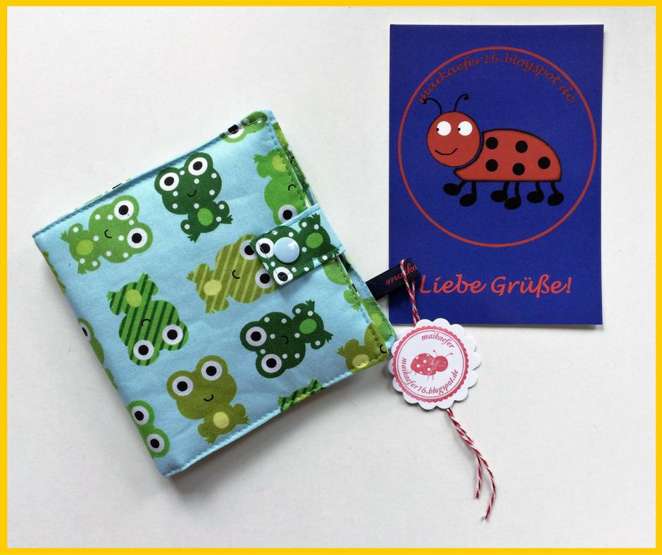 Ein wunderschönes Geschenk von Maika vom Maikäferblog! Nadelbrief, Nähset