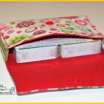 Ein Kartentäschle nach dem Freebook von Nähzimmerplaudereien und dem Video vom Haus mit dem Rosensofa. Genäht von Zum Nähen in den Keller.