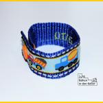 Notfallarmband SOS Armband Handynummer Armband Kinder verloren gehen lost child mobile number wrist band bracelet Zum Nähen in den Keller