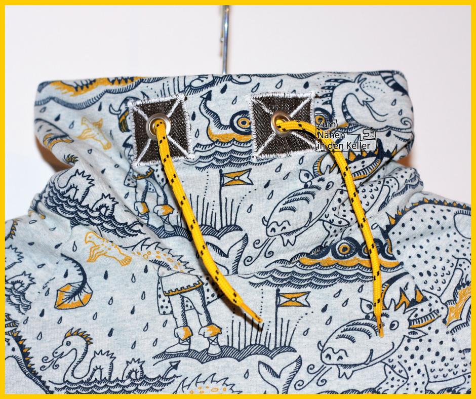 Raglanpulli Raglanpullover klimperklein Pauline Dohmen Nähen mit Jersey kinderleicht mit Rollkragen Wikinger Lillestoff Susalabim Zum Nähen in den Keller