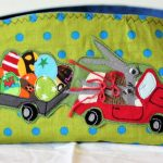 APPLIKATION ostern easter hase bunny rabbit cabrio ostereier car auto Zum Nähen in den Keller