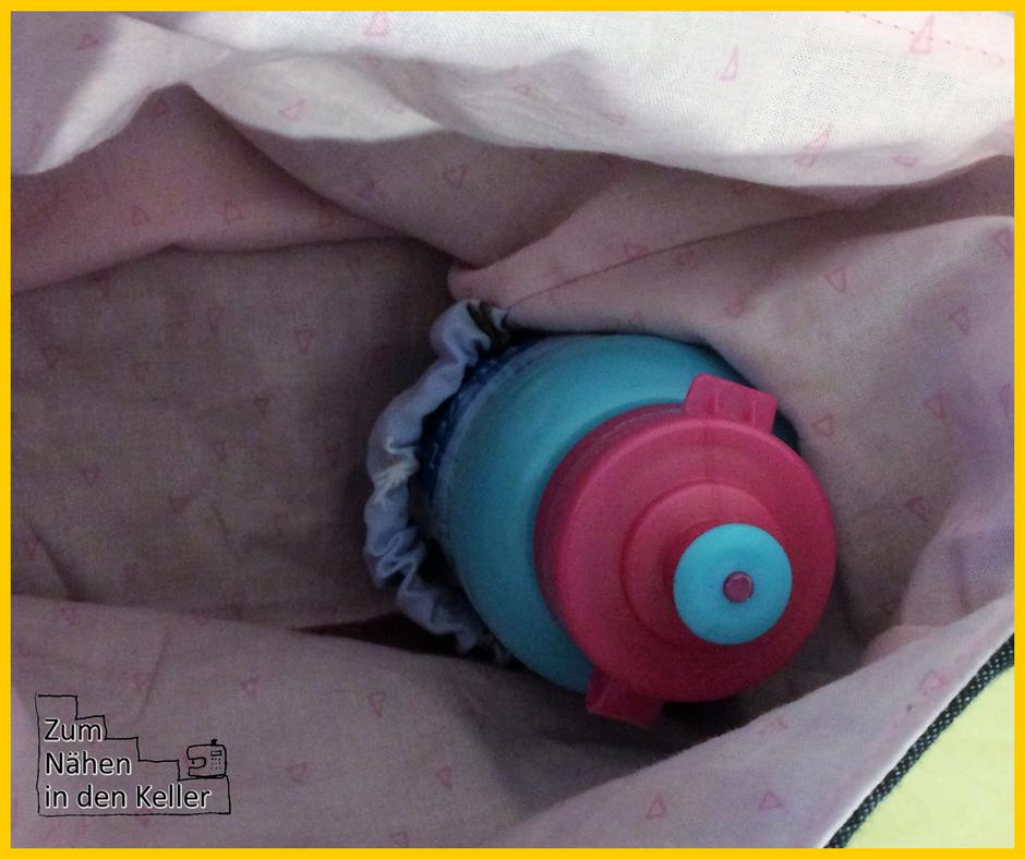 Kindergartentasche Umhängetasche Tasche Rudi TWO 2 mit Frozen Anna Eiskönigin als Geburtstagsgeschenk. Nähen für Mädchen Kinder Zum Nähen in den Keller Lillesol & Pelle