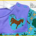 Schnittmuster lillesol basics No.47 Frühlingskombi Kleid & Shirt Zum nähen in den Keller Pferde Pony