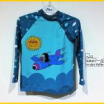 Joel Mialuna Pauli Maulwurf Flugzeug Shirt Langarmshirt nähen Zum Nähen in den Keller