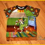 Petterson und Findus Mucklas Jerseypanel Panel Raglanshirt Kids Erbsenprinzessin Zum Nähen in den Keller