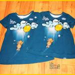 Kinderkleid Klimperklein Mimmi hebt ab Stoff & Liebe Panel Kleid Nähen für Mädchen Zum Nähen in den Keller