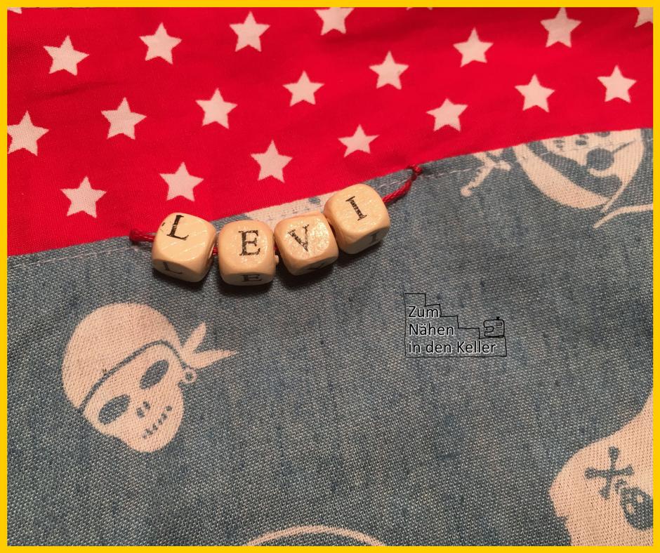 freundebuchtasche pirat nähen Zum Nähen in den Keller