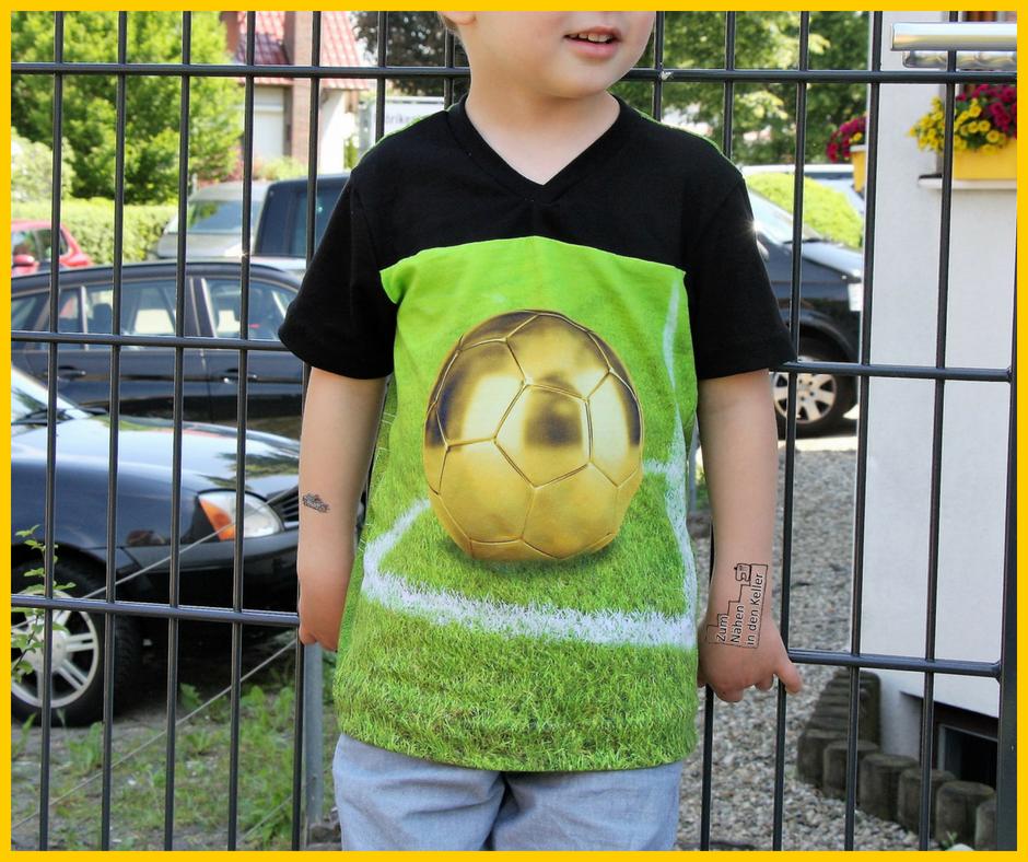 sportshirt vinny von lunaju, jerseypanel fußball von Glaeser Textil in Ulm, Zum Nähen in den Keller
