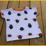 Simples Shirt Klimperklein Nähen mit Jersey Stick & Style Sewprise Bag März Jungs für den Menschenskinder Sew Along - Zum Nähen in den Keller