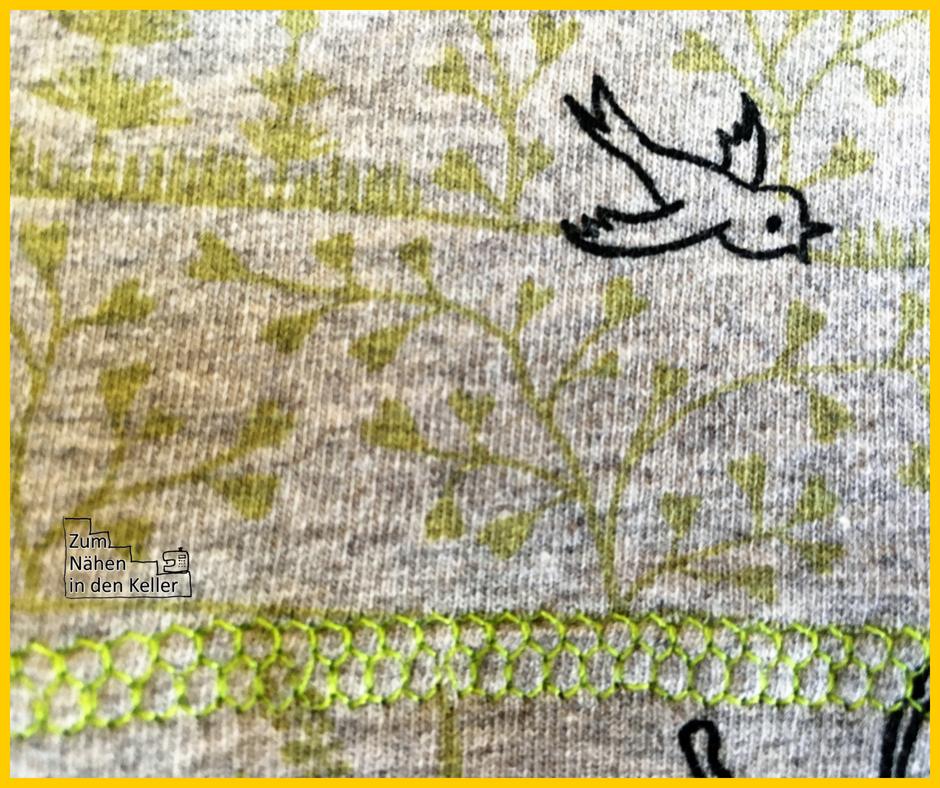 Gartenspaß Jersey Susalabim Lillestoff Hänsel & Gretel Slimfit Shirt nach Erbsenprinzessin Zum Nähen in den Keller