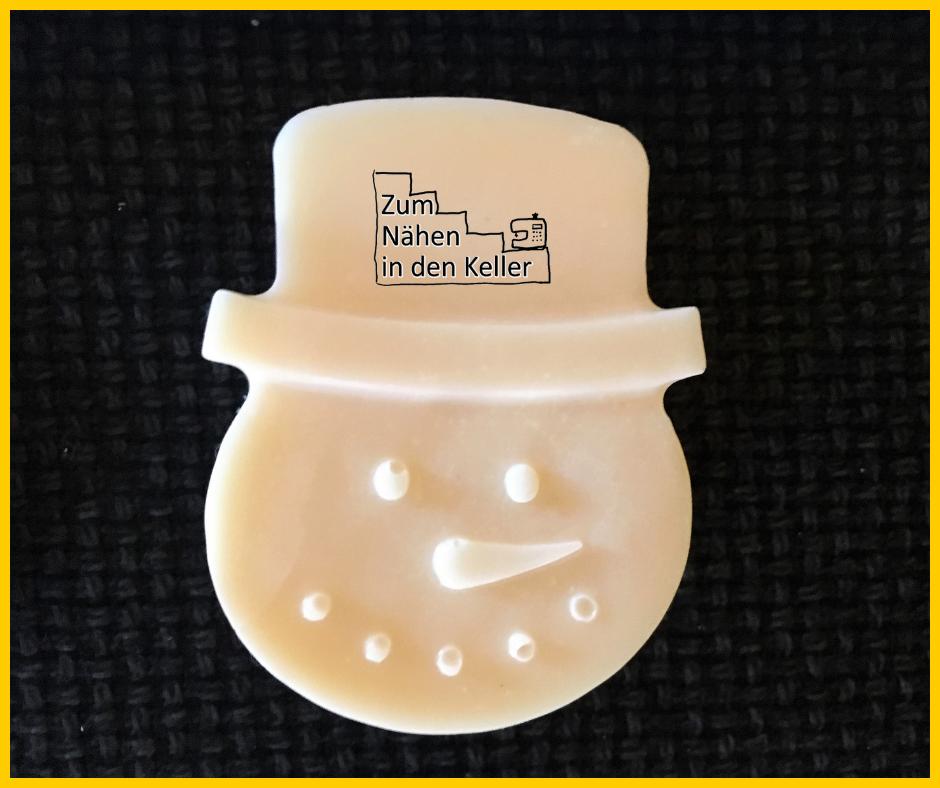 Honig-Ziegenmilch-Seife Schneemann Tannenbaum Nikolaus Stiefel selbstgemacht Silikonform Zum Nähen in den Keller