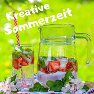 Kreative Sommerzeit - Design Ingrid von Nähkäschtle. Bloggeraktion von Augensterns Welt, Crafting Café, Eule im Schlafanzug, Maritabw, Nähkäschtle, Padermama und Zum Nähen in den Keller