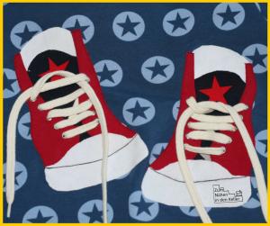 3D-Sneakers, Freebie von Carlanaeht
